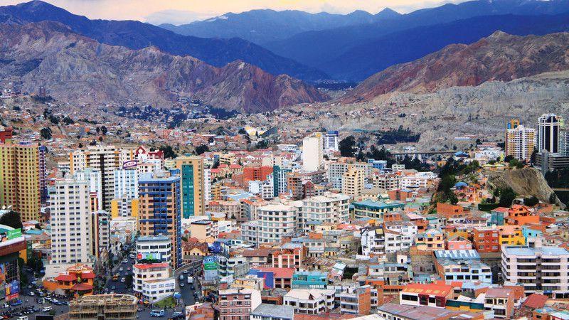 Gửi hàng đi Bolivia