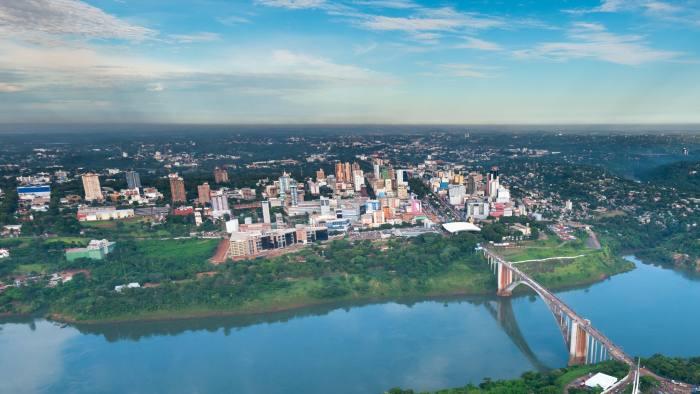 Gửi hàng đi Paraguay