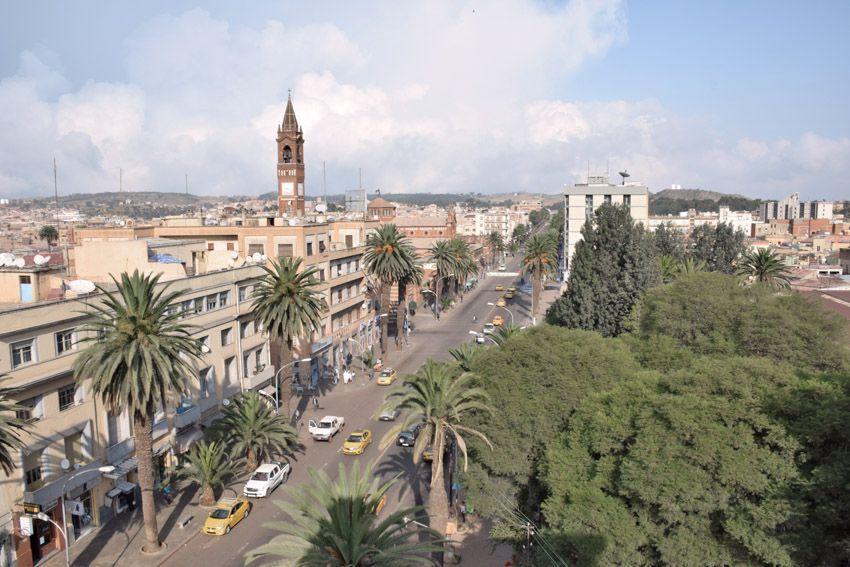 Chuyển phát nhanh đi Eritrea