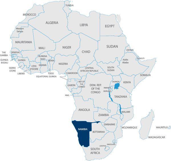 Chuyển phát nhanh đi Namibia