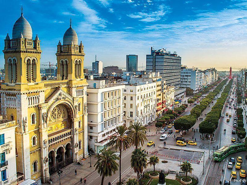 Chuyển phát nhanh đi Tunisia