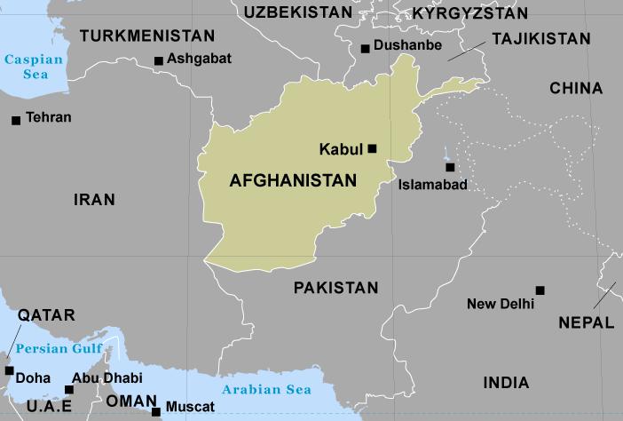 Chuyển phát nhanh đi Afghanistan