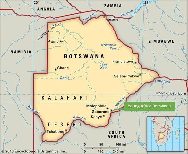 Chuyển phát nhanh đi Botswana