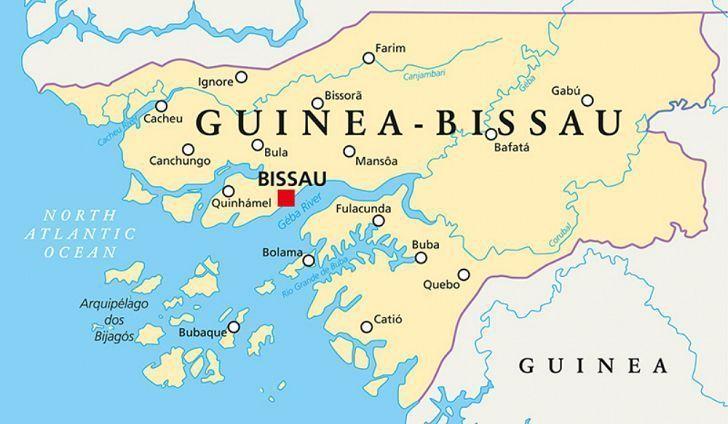 Chuyển phát nhanh đi Guinea-Bissau