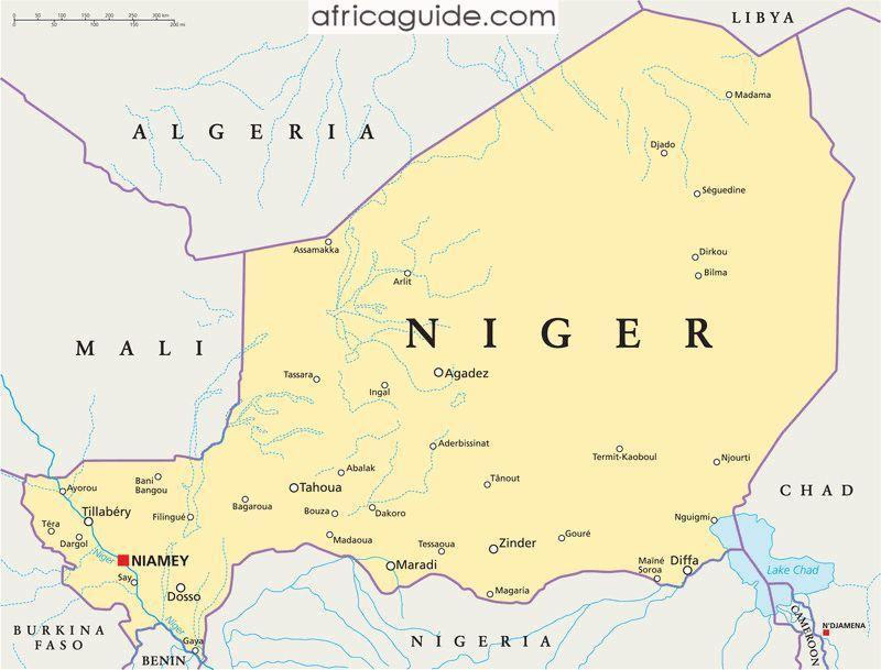Chuyển phát nhanh đi Niger