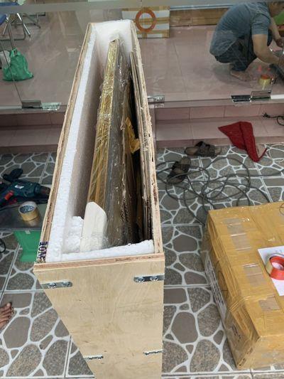 Đóng kiện gỗ cho tranh