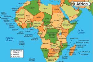 Gửi hàng đi các nước châu Phi