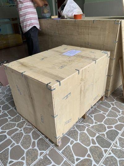 Hàng gửi đã đóng kiện gỗ