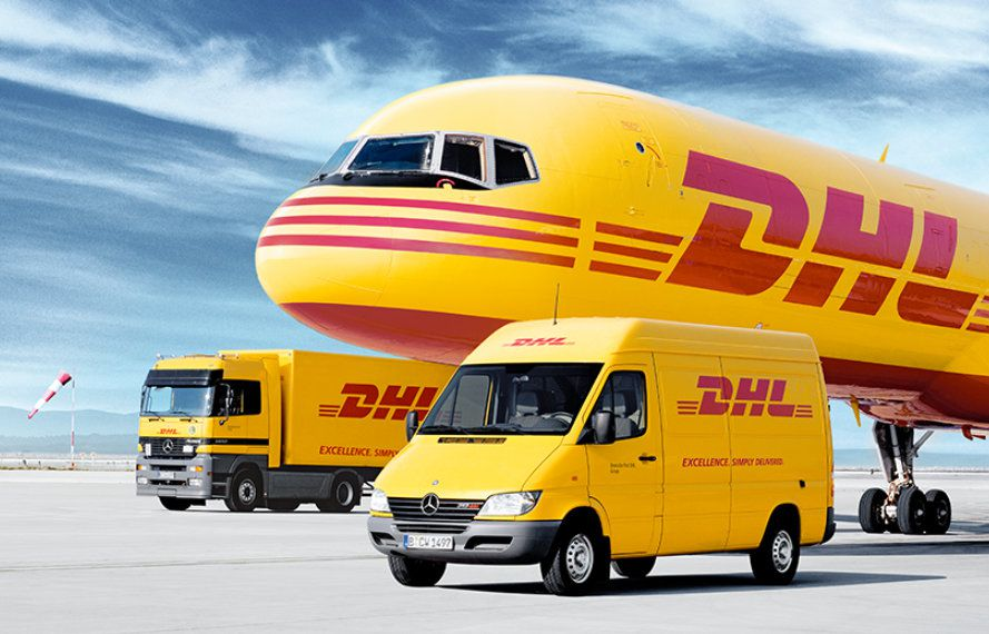 Gửi hàng đi Mỹ qua DHL