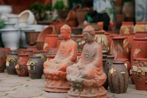 Gửi tượng đi nước ngoài